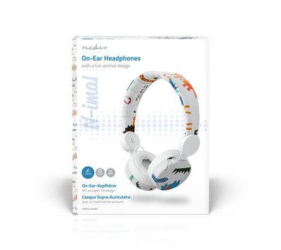 Nedis bedrade hoofdtelefoon HPWD4104WT