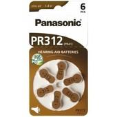 Panasonic Panasonic batterij voor gehoorapparaat PR312 PR41 1.4V