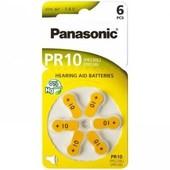 Panasonic Panasonic batterij voor gehoorapparaat PR10 PR230L PR536 PR70 1.4V