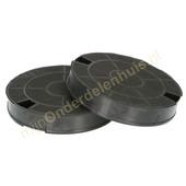 EuroFilter Whirlpool koolstoffilters van afzuigkap 484000008572 type GHF029