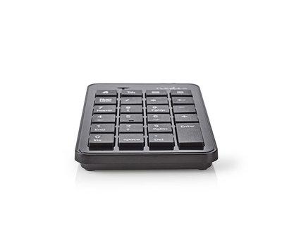 Nedis Numeriek toetsenbord KBNM100BK