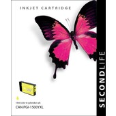 SecondLife SecondLife inktcartridge Canon PGI1500Y XL geel