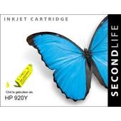 SecondLife SecondLife inktcartridge voor HP 920Y XL geel