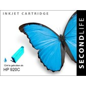 SecondLife SecondLife inktcartridge voor HP 920C XL blauw