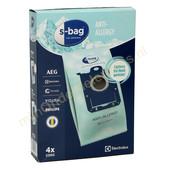 Electrolux Originele stofzuigerzakken van Electrolux S-Bag E206S Anti-Allergy 900168460
