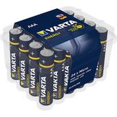 Varta Varta batterij AAA potlood 1.5V Alkaline 24-Pack