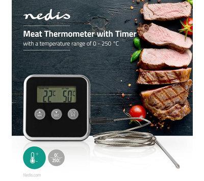 Vleesthermometer 0 - 250° C KATH105BK