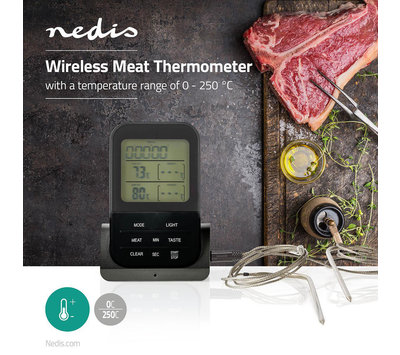 Vlees thermometer0 - 250 °C KATH107GY