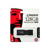 Kingston Kingston USB Stick / flash drive: DataTraveler 100 G3 128GB  USB3.0