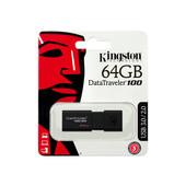 Kingston Kingston USB Stick / flash drive: DataTraveler 100 G3 64GB  USB3.0