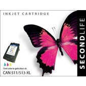 SecondLife SecondLife inktcartridge voor Canon 513 XL kleur