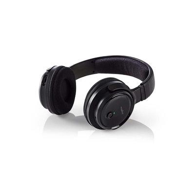 Nedis draadloze hoofdtelefoon radiofrequentie  ( RF ) HPRF200BK