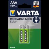 Varta Varta solar oplaadbare batterij AAA 550mAh