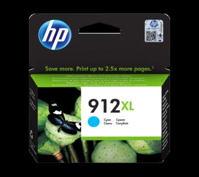 Originele HP inktcartridge 912XL blauw 3YL81AE
