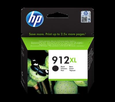 Originele HP inktcartridge 912XL zwart 3YL84AE