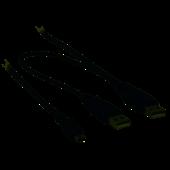 Valueline USB 2.0 Y kabel 2m VLCP60350B20
