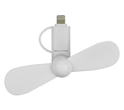 Grab 'n Go mini ventilator voor smartphone -wit- GNG-149