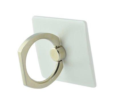 Grab 'n Go ring holder voor smartphone -wit-
