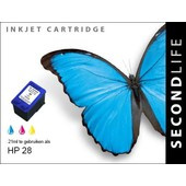 SecondLife SecondLife inktcartridge voor HP 28 XL kleur