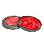 Nilfisk Nilfisk zijwiel van stofzuiger 78602711 rood
