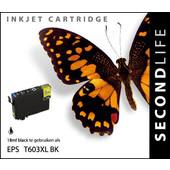 SecondLife SecondLife inktcartridge voor Epson 603 zwart