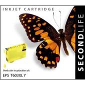 SecondLife SecondLife inktcartridge voor Epson 603 geel