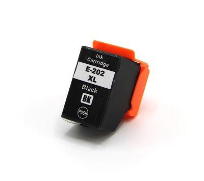 SecondLife inktcartridge voor Epson 202XL zwart