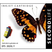SecondLife SecondLife inktcartridge voor Epson 202XL geel