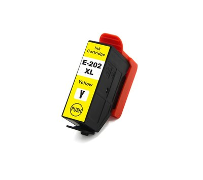 SecondLife inktcartridge voor Epson 202XL geel