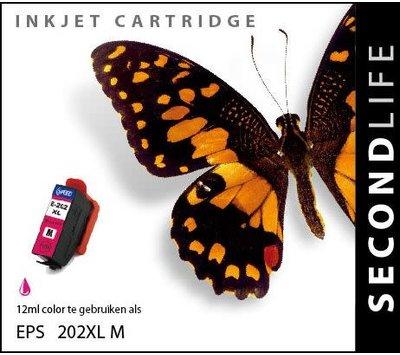 SecondLife inktcartridge voor Epson 202XL rood