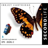 SecondLife SecondLife inktcartridge voor Epson 202XL blauw