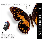 SecondLife SecondLife inktcartridge voor Epson 202XL foto zwart
