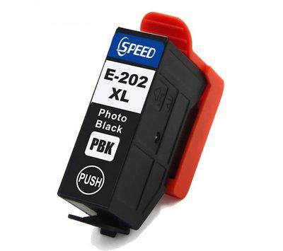 SecondLife inktcartridge voor Epson 202XL foto zwart