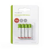 Nedis Nedis oplaadbare batterij AAA 950mAh 1.2V LR03 BANM9HR034B