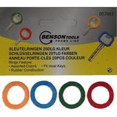 Benson Benson sleutelring rubber 20 stuks 007851
