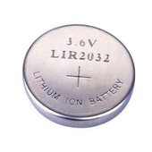 Universeel LIR 2032 herlaadbare li-ion knoopcel