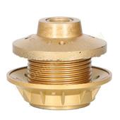 EGB EGB fitting E27 met schroefdraad en ring -goud-