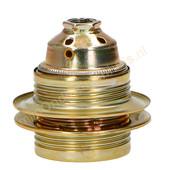 EGB EGB fitting E27 met schroefdraad en 2 ringen -messing-