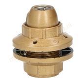 EGB EGB fitting E14 met schroefdraad en 2 ringen -goud-