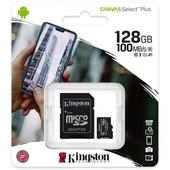 Kingston Kingston Micro SD kaart 128GB SDXC1