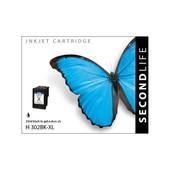 SecondLife SecondLife inktcartridge voor HP302 XL zwart