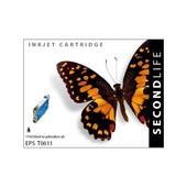 SecondLife SecondLife inktcartridge voor Epson T0611 zwart