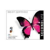 SecondLife Secondlife inktcartridge voor Canon 21BK / 24BK zwart