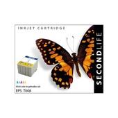 SecondLife SecondLife inktcartridge voor Epson T008 kleur