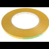 Coroplast Dubbelzijdig tape voor LED strips 6mm 7215