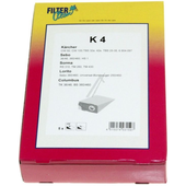 Filterclean FilterClean stofzuigerzakken voor Karcher K4