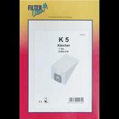 Filterclean FilterClean stofzuigerzakken voor Karcher K5