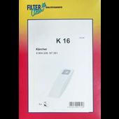 Kärcher FilterClean stofzuigerzakken voor Kärcher K16