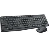 Logitech Logitech draadloze toetsenbord + muis voor computer 920-007931 LGT-MK235