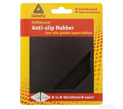 Deltafix anti-slip rubber zwart 738